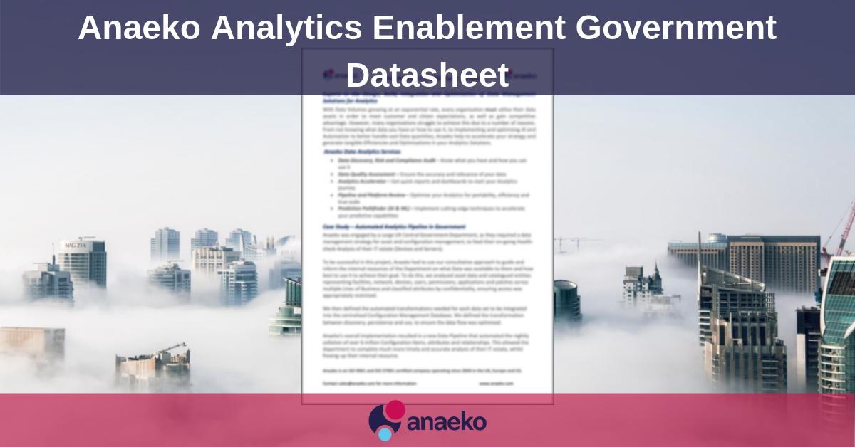 Anaeko-Analytics-Enablement-Government-Datasheet