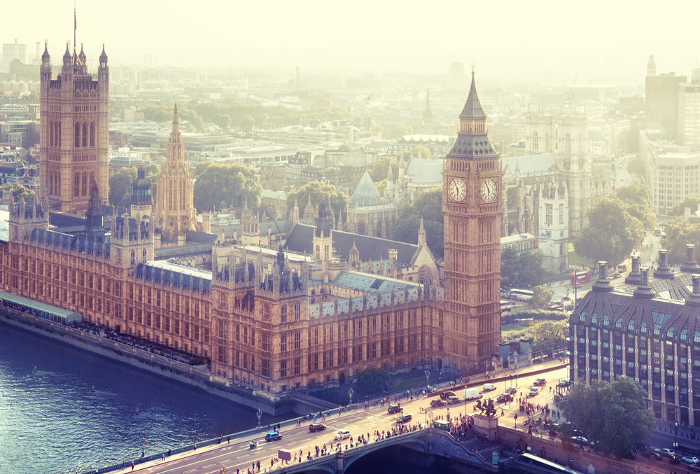 London - Palace of Westminster, UK