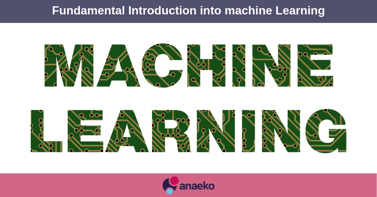 Fundamental Introduction into machine Learning - Anaeko