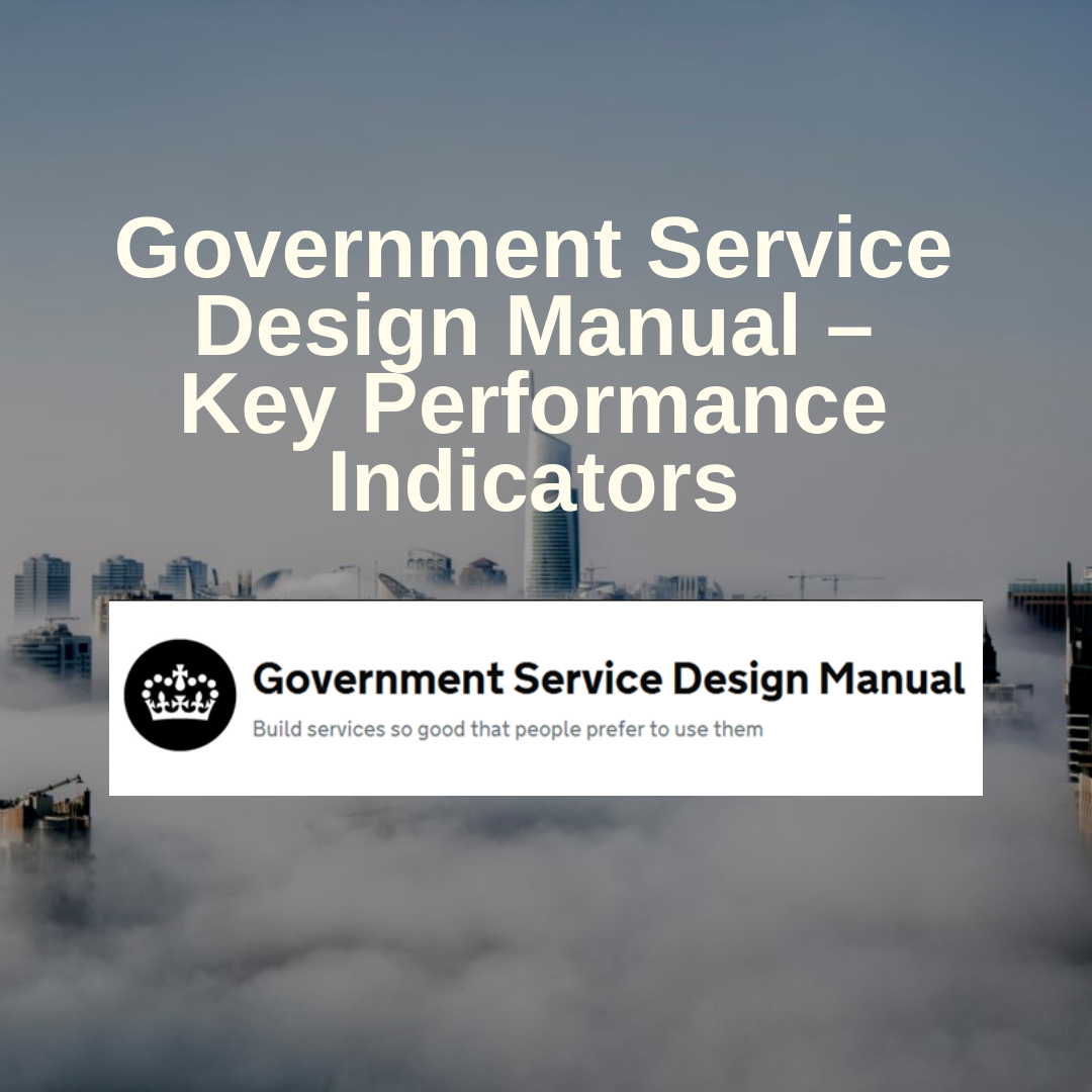 government-service-design-manual-key-performance-indicators